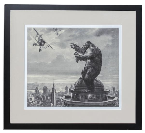 Ray Bradbury Personally Owned ''King Kong'' Limited Edition Poster & Film Strip