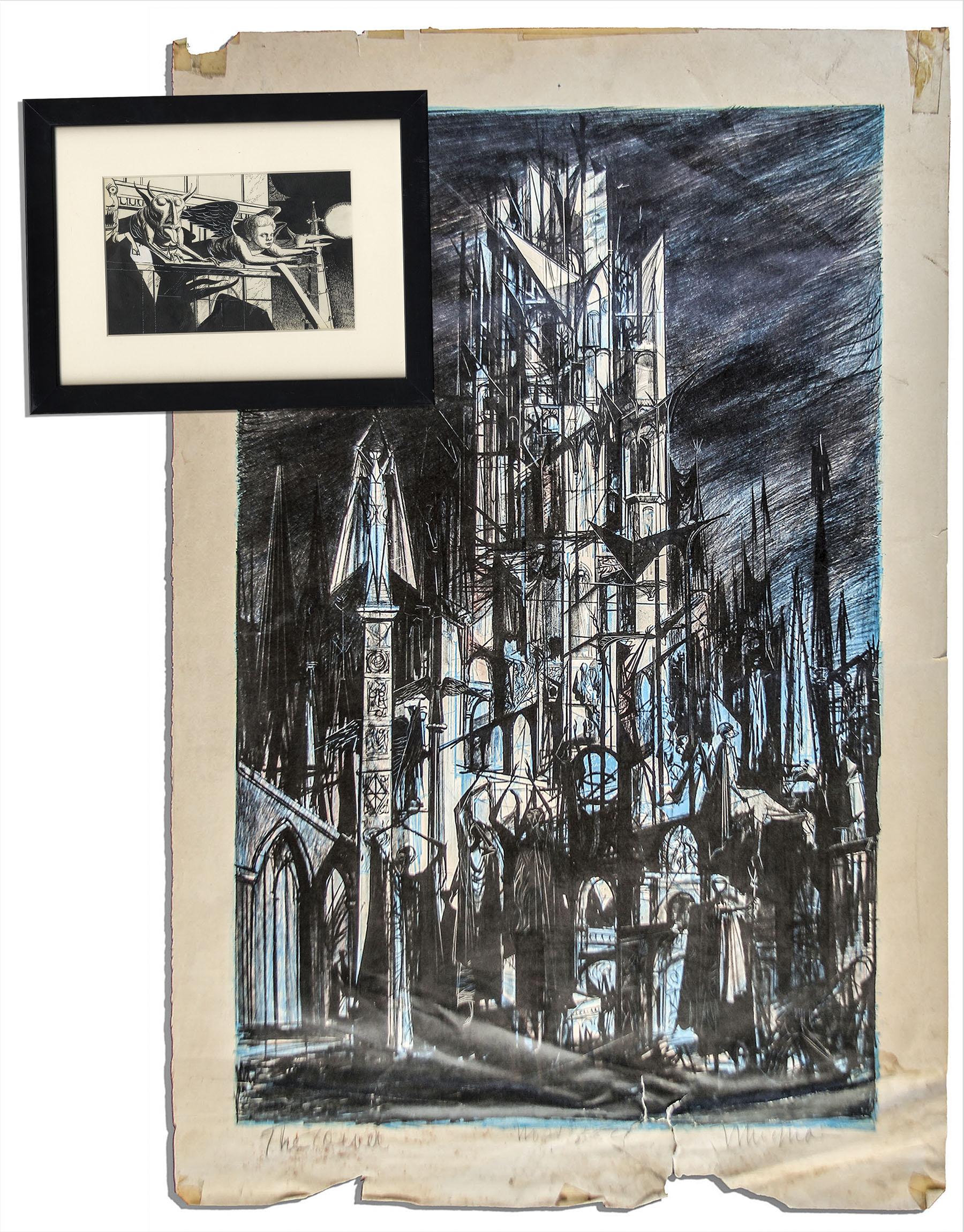 Ray Bradbury HALLOWEEN TREE signed  with drawing
