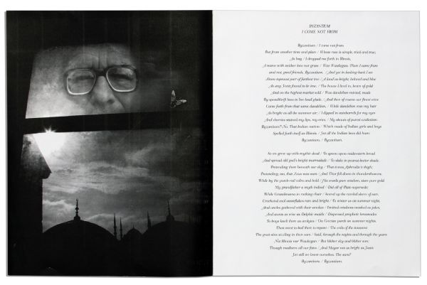 Early Draft of a Book by Ray Bradbury & Photographer Aldo Sessa That Never Came to Fruition -- Photography by Sessa Paired With Poems by Bradbury