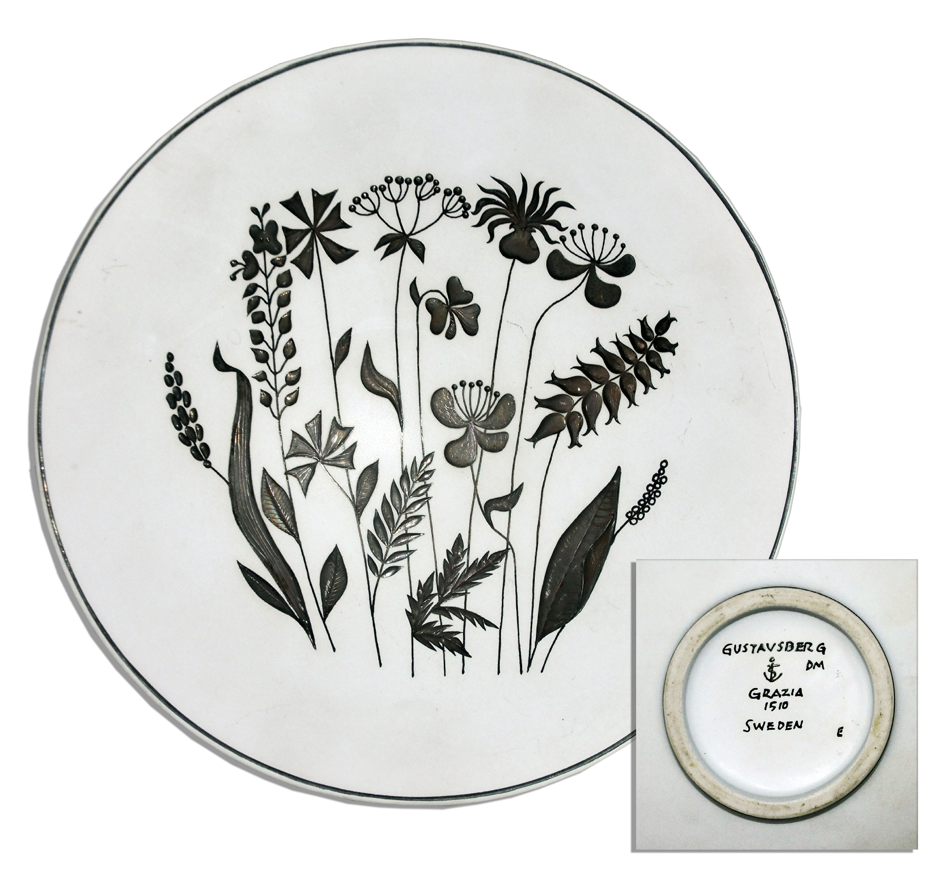 Black Decorative Plates Lot Detail  Ray Bradbury Personally Owned Lot Of 14 Decorative