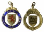 Scottish League Cup Winners Gold Medal From the 1966-67 Season