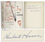 Herbert Hoover Signed First Edition of As Ding Saw Hoover -- With PSA/DNA