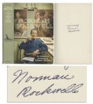 Norman Rockwell Signed Autobiography My Adventures as an Illustrator