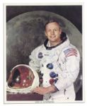 Neil Armstrong Signed 8 x 10 NASA Photograph