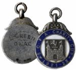 Silver Medal From the 1921-22 Suffolk County Football Association Charity Cup