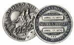 Jack Swigerts Own Apollo 13 Flown Robbins Medal -- Serial Number 256