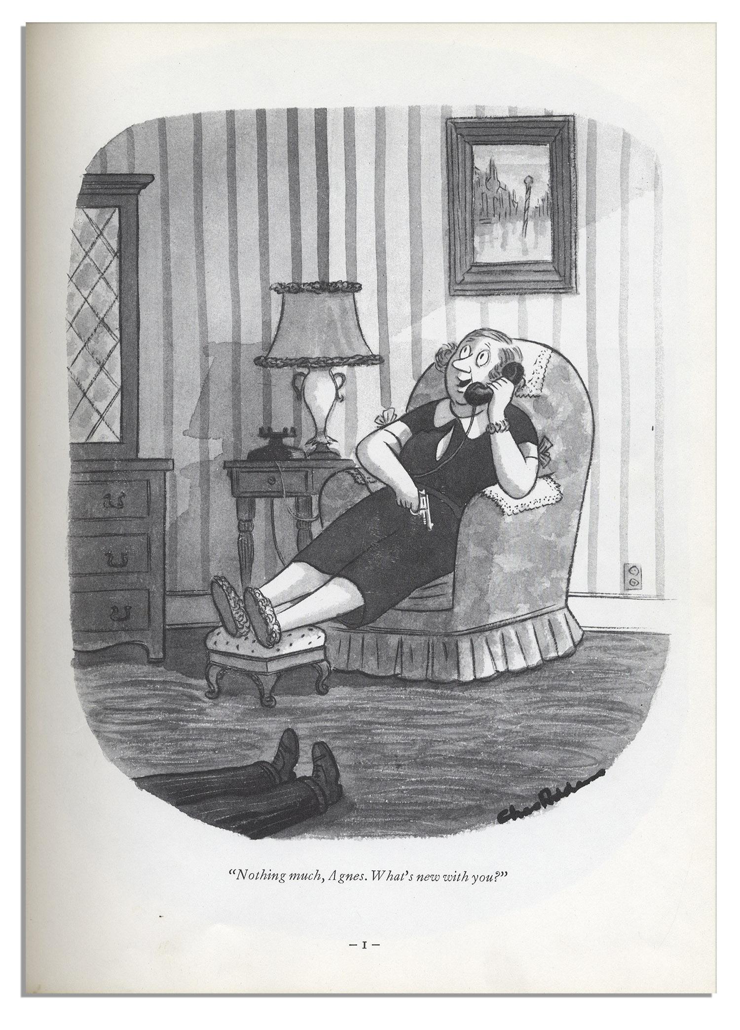 Charles Addams Drawings Rare Charles Addams Hand