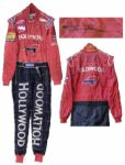 Tony Kanaan 2001 Indy 500 Race-Worn Suit Signed