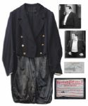 Lou Costello Tuxedo Jacket From The Naughty Nineties -- Where They Perform Whos on First?