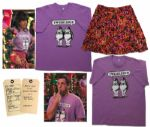 Adam Sandler Screen-Worn Tweedledee & Tweedledum T-Shirts & Skirt From Jack and Jill