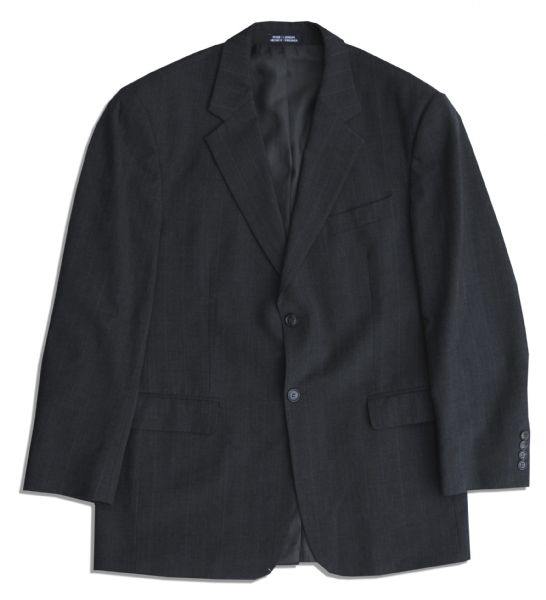 Steve Carell Screen-Worn Business Suit From ''The Office'' -- With a COA From NBC Universal