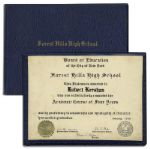 Captain Kangaroo Robert Keeshans High School Diploma