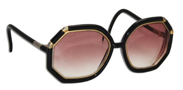 Marlene Dietrich Personally Owned Rx Sunglasses by Iconic French Designer Ted Lapidus