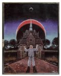 Ray Bradbury Personally Owned Art Print by Greg Bear