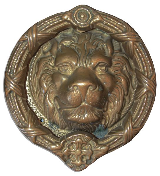 MGM Door Knocker -- The Iconic MGM Lion
