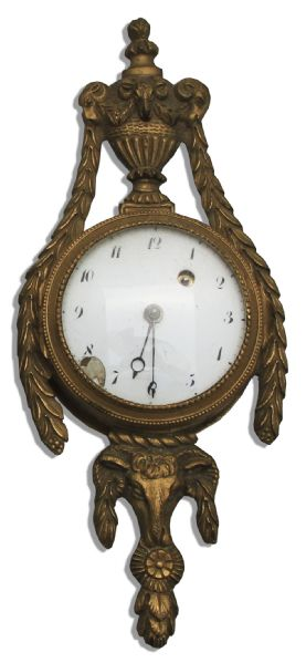 Marlene Dietrich Personally Owned 19th Century Ormolu Clock From Her Paris Apartment