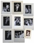 Ray Bradbury Personally Owned Lot of Photos From The Wonderful Ice Cream Suit -- Eight Large Still Photos From the Stage Production -- 10.25 x 13.25