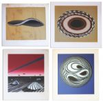 Ray Bradbury Personal Collection of Four Signed Aldo Sessa Silkscreen Prints
