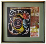 Ray Bradbury Personally Owned Original Cover Art for the 1969 Album Ray Bradburys Dark Carnival