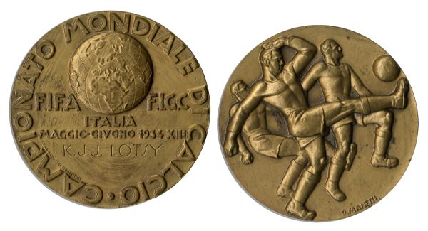 FIFA World Cup Bronze Medal From 1934