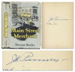 J.C. Penney Signed Copy of Main Street Merchant - The J.C. Penney Story
