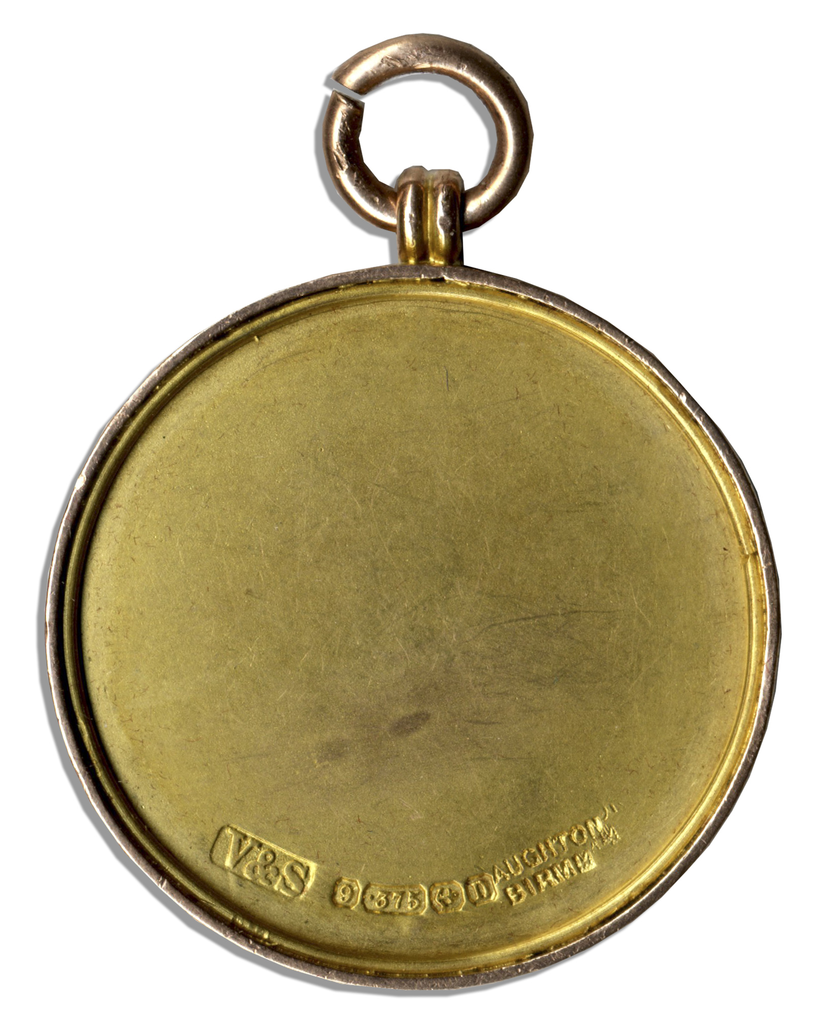 Lot Detail - London Football Association Gold Medal Won by ...