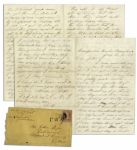 Civil War Letter Right After Gettysburg -- ...three hard days fiting at Gettysburgh...we drove them back with a very heavy loss...