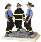 One of a Kind 9/11 FDNY Prototype Scene -- From The Estate of G.I. Joe Creator Donald Levine