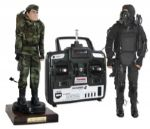 Set of Two G.I. Joe Prototypes Commemorating the Thirtieth Anniversary of The G.I. Joe Series -- Accompanied With Original Remote Control, in Working Condition