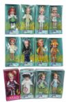 Lot of Twelve Dolly Darling Prototype Dolls -- In Original Packaging -- From Estate of G.I. Joe Creator Don Levine