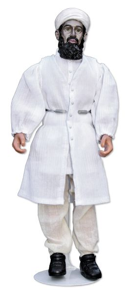 Incredible Osama Bin Laden Doll Prototype Sanctioned by The CIA  -- Bin Laden Doll Was Intended for Distribution to Civilians in Afghanistan & Pakistan -- One of Three in Existence