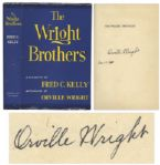 Orville Wright Signed First Edition of The Wright Brothers