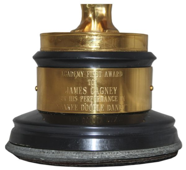Academy Award for Best Actor Won by James Cagney in 1942 For ''Yankee Doodle Dandy'' -- Considered One of the Best Performances in One of the Best Movies of All Time
