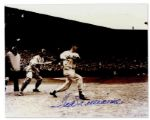 Ted Williams Glossy 10 x 8 Signed Photo -- Near Fine
