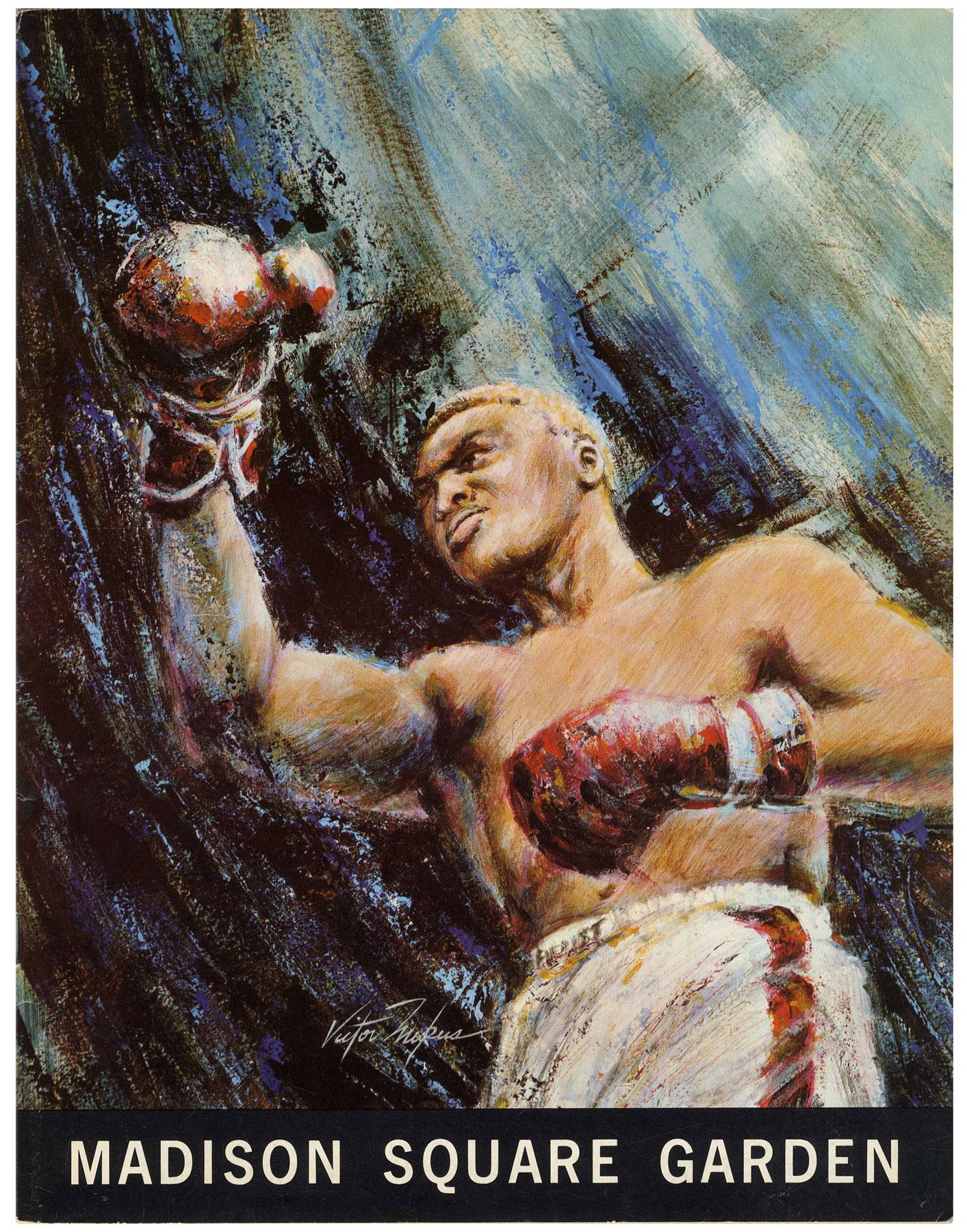 Lot Detail Frazier Vs Quarry 23 June 1969 World Heavyweight Boxing Program Madison Square