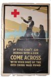 WWI Red Cross Poster by C.W. Love