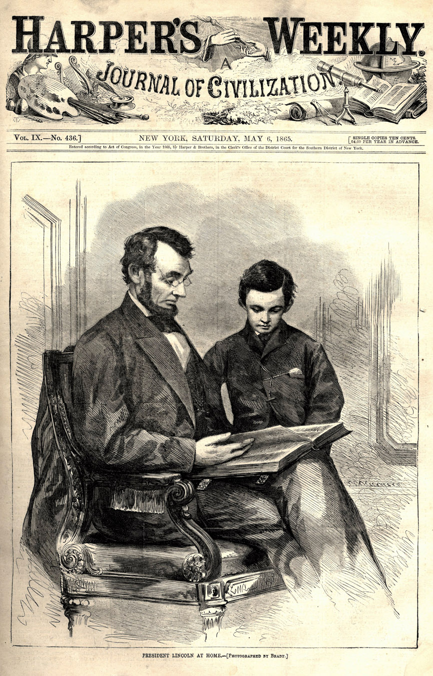 Lot Detail Harper S Weekly Compilation Of All Issues From 1865