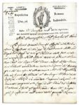 Roman Republic 1798 Document -- Shortly After Napoleons General Invaded Rome & Established the Roman Republic -- ...The Republic was founded with their blood...