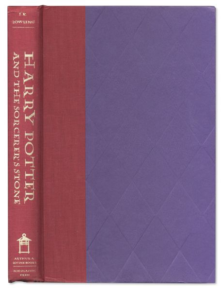 ''Harry Potter and the Sorcerer's Stone'' -- First American Edition, First Printing