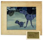 Disneys 101 Dalmations Original 1961 Animation Cel
