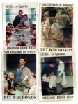 Norman Rockwells Original 1943 Four Freedoms Poster Set