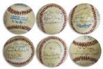 1934-35 Detroit Tigers Signed Baseball -- Team Won Back to Back Pennants Those Years & Won The World Series in 1935 -- Signed by Hank Greenberg, Charles Gehringer & More