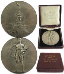 Silver Medal From the 1920 Summer Olympics, Held in Antwerp, Belgium