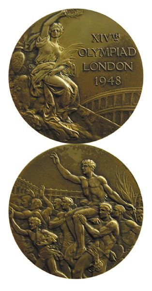 Bronze Medal From the 1948 Summer Olympics, Held in London, England