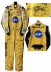 Kyle Busch Race-Worn & Signed Firesuit -- Worn at 2 NASCAR Sprint Cup Series Races in 2011