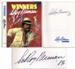 Leroy Neiman Signed Winners: My Thirty Years in Sports
