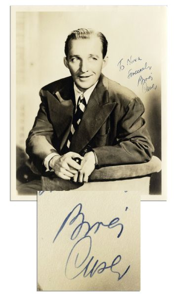 Bing Crosby 8'' x 10'' Signed Photo