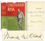 General Mark Clark Signed First Edition of Calculated Risk
