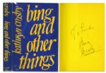 Bing Crosby Signed Copy of His Wife Kathryn Crosbys Autobiography Bing and Other Things