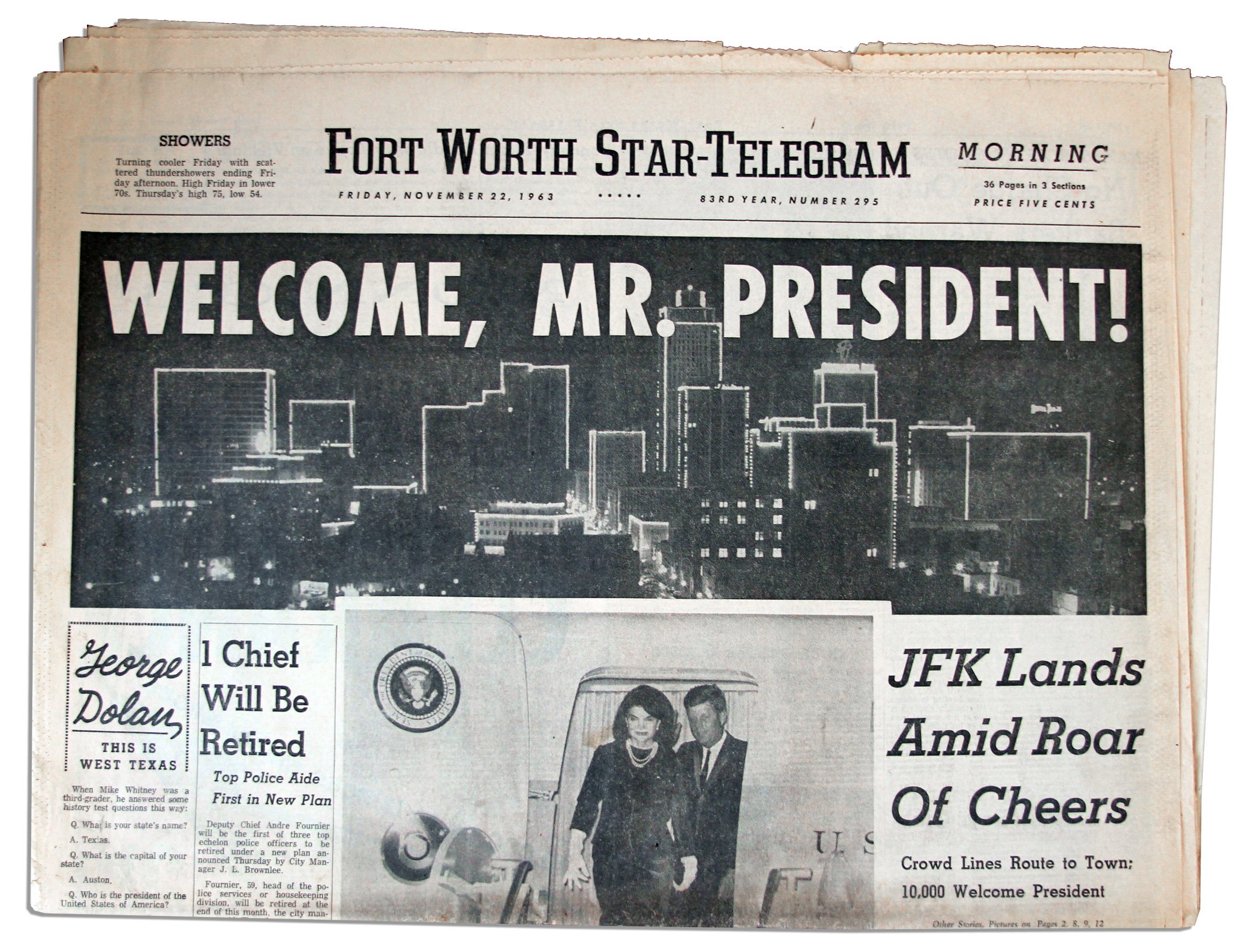 Fort Worth Star-Telegram from Fort Worth, Texas on